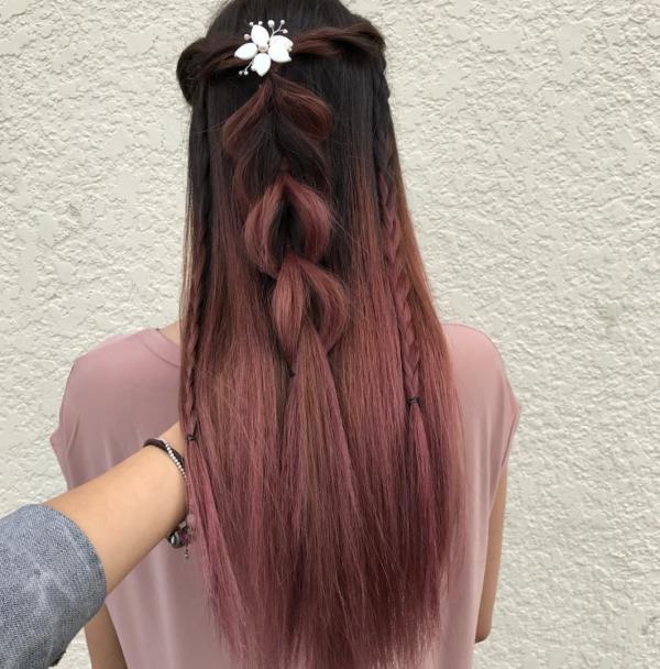 floral hair vine west coast jewelry vancouver