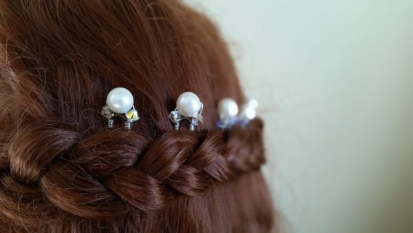 pearl hair accessories for wedding