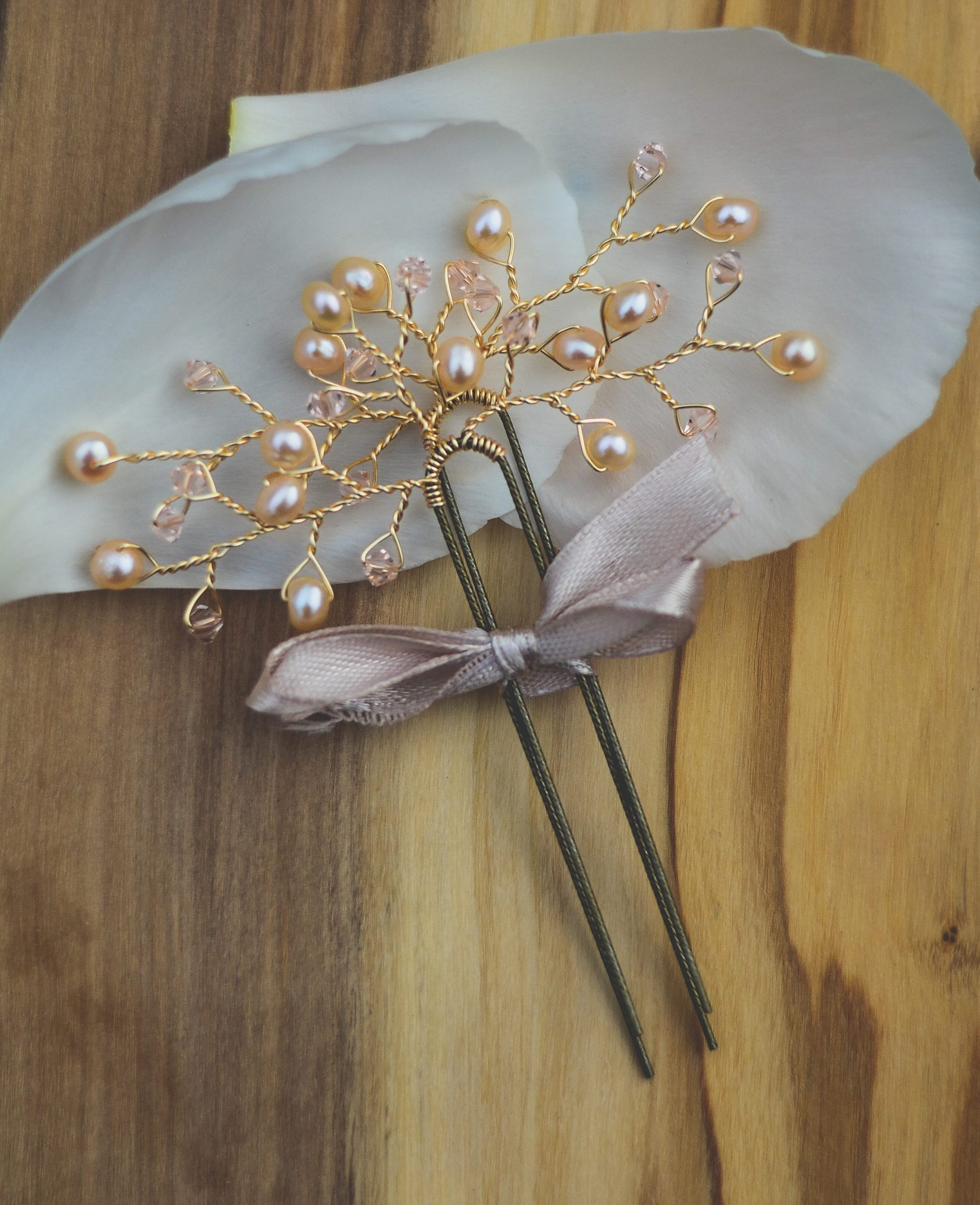 gold wedding hair pieces west coast jewelry vancouver