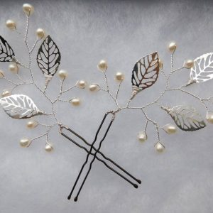 rustic hair pins