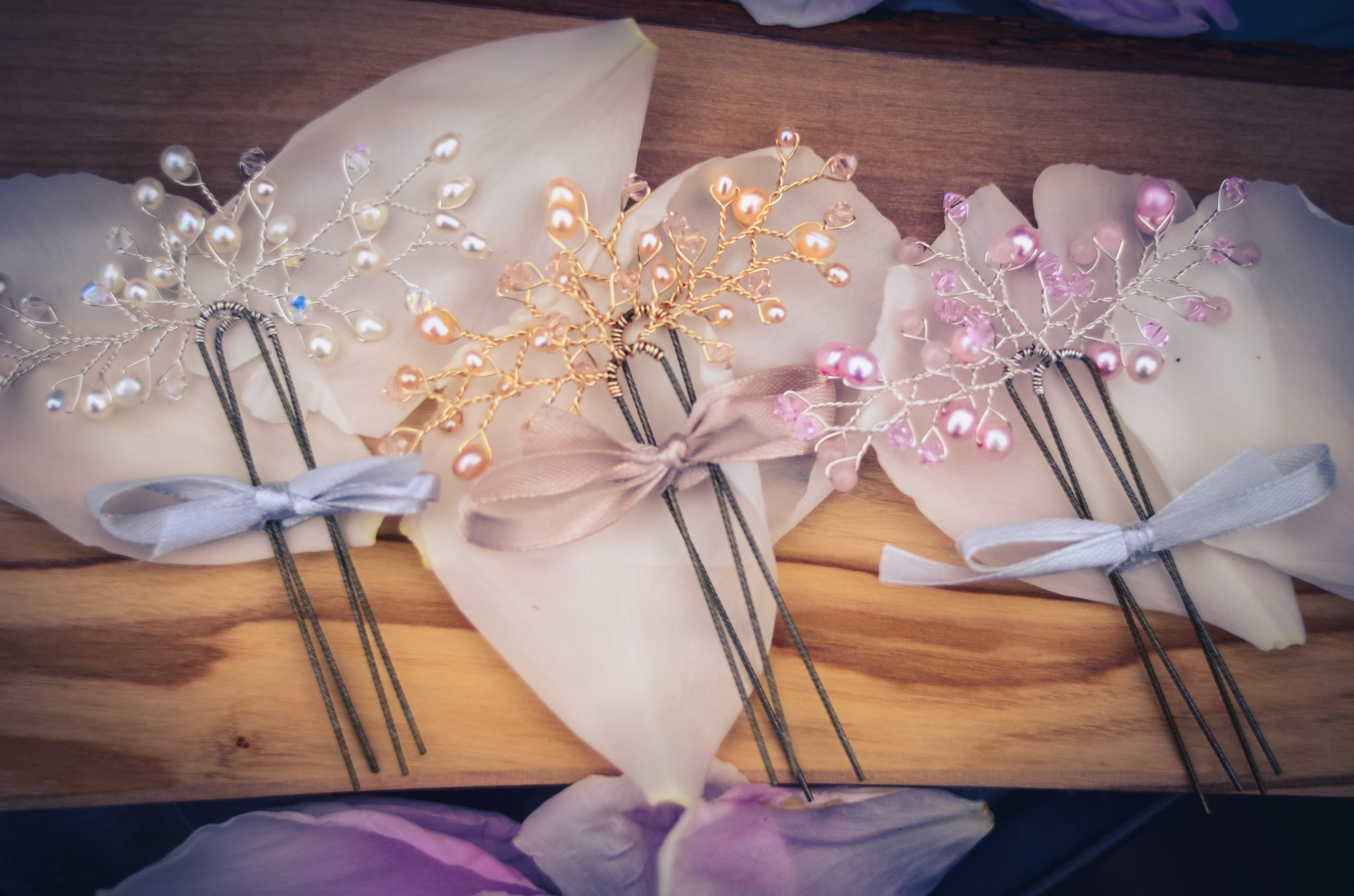 bridal hair pins west coast jewelry