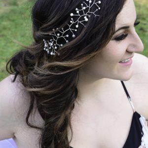 headband hair vine with pearls